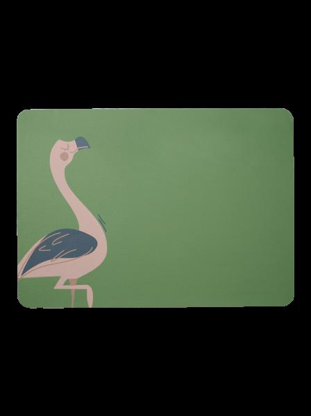 Kindertischset, Fiona Flamingo