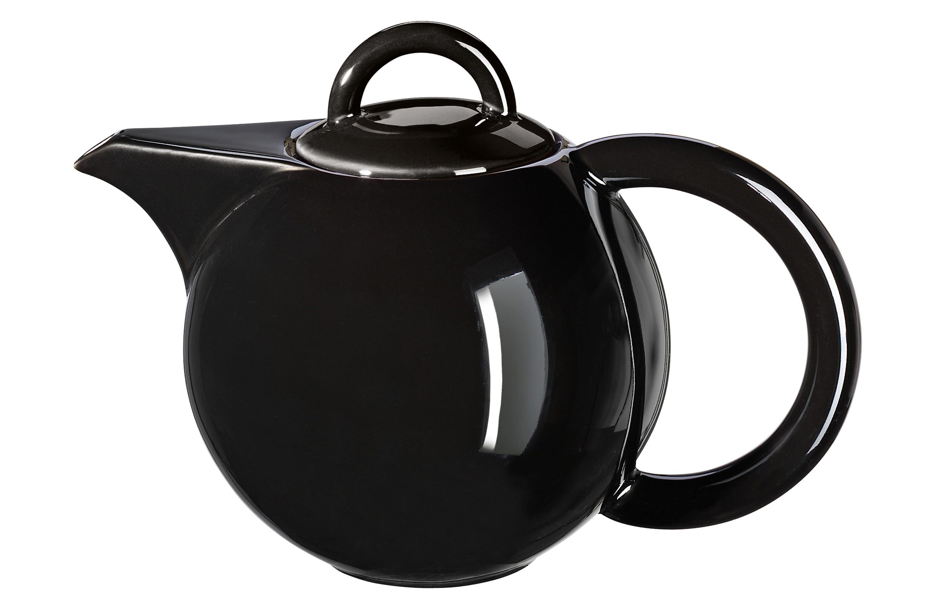 teekanne bauchig schwarz kannen kaffee tee produkte home by asa die asa selection. Black Bedroom Furniture Sets. Home Design Ideas