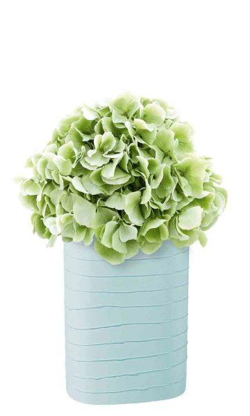 *Vase, aqua