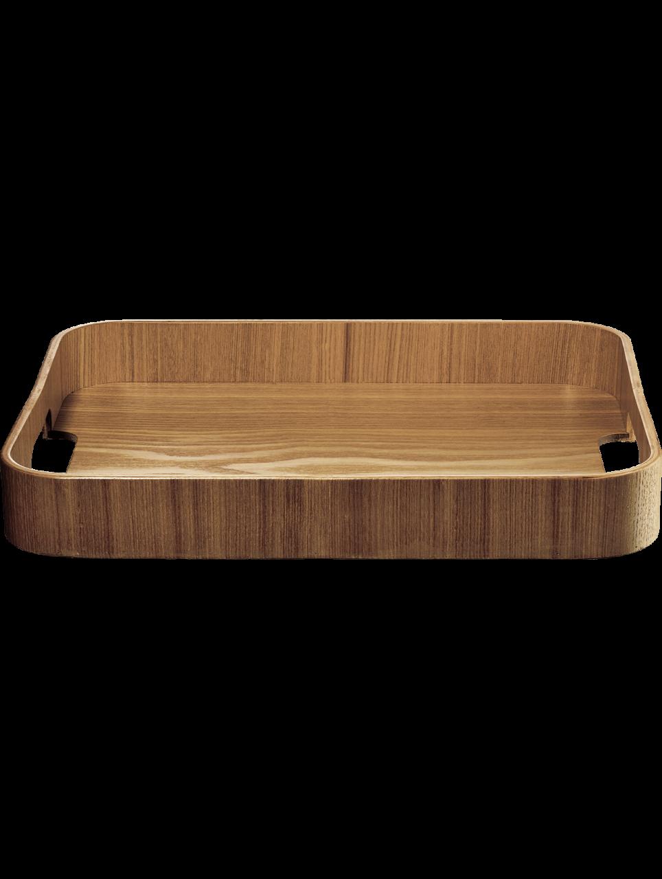 Holztablett, rechteckig