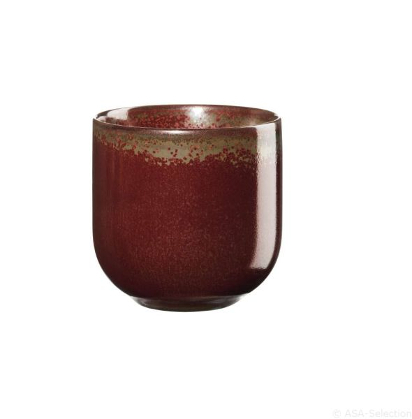 2er Set Teebecher, rusty red