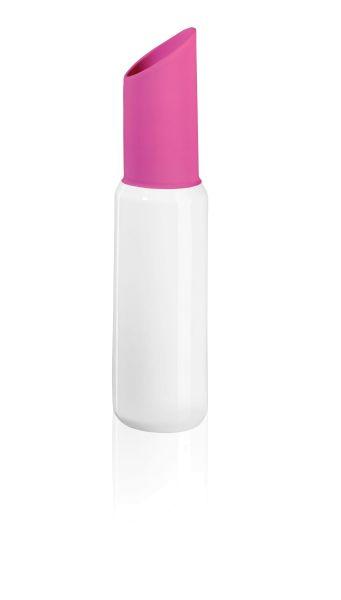 *Lipstick vase fuchsia