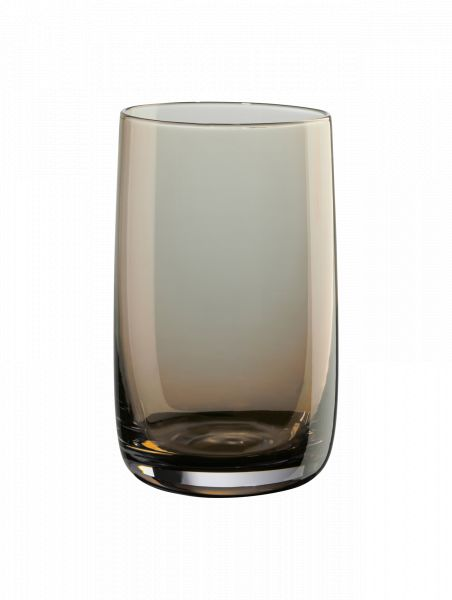 Longdrinkglas, amber