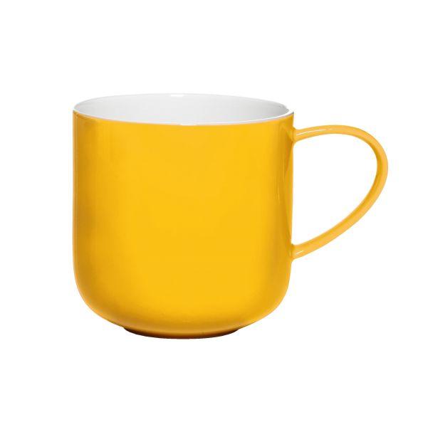 Henkelbecher, gelb