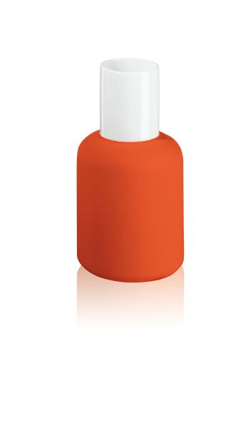 *Nailpolish Vase orange