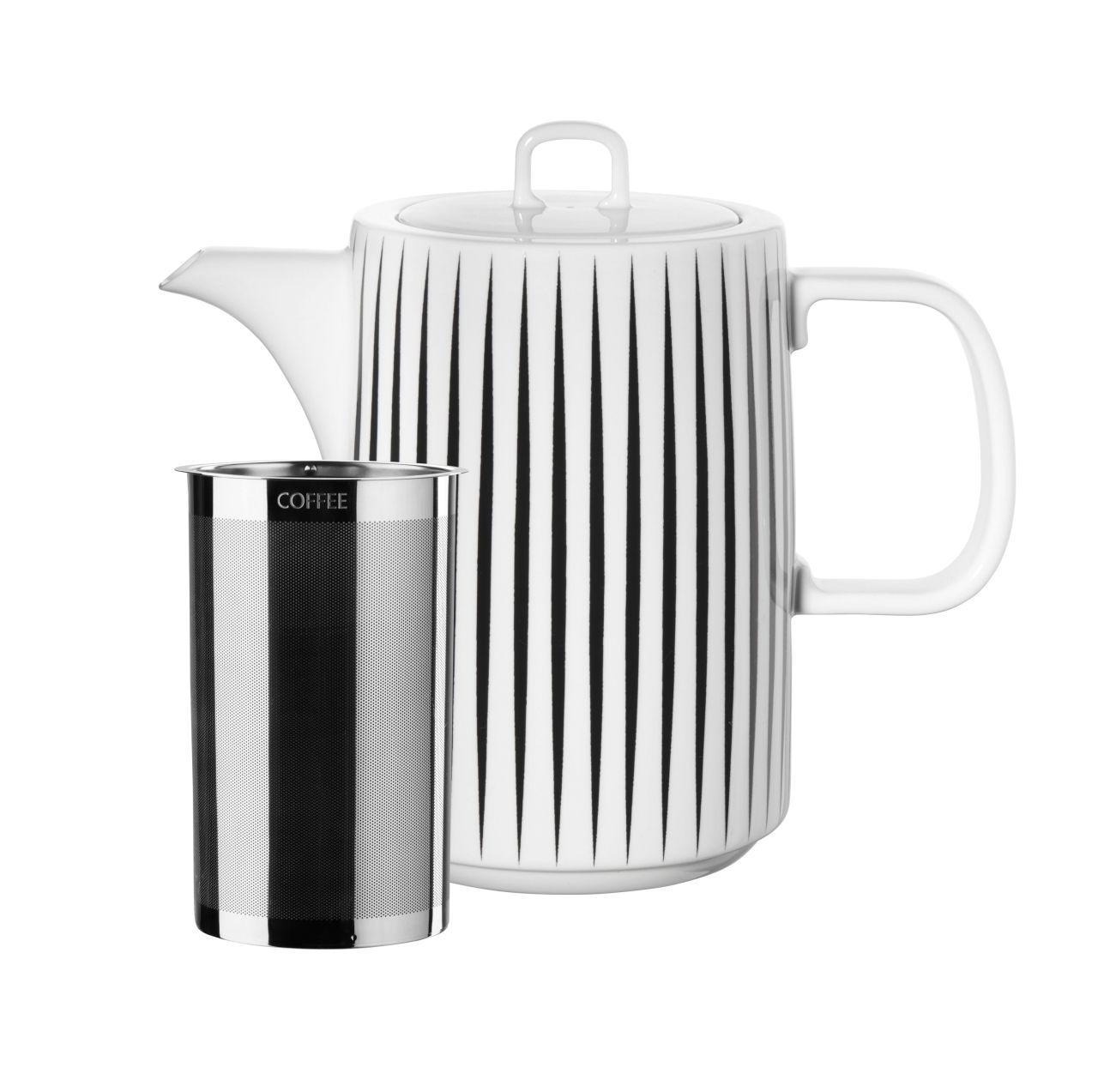 Kaffeekanne, stripes