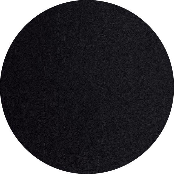 Tischset rund, schwarz