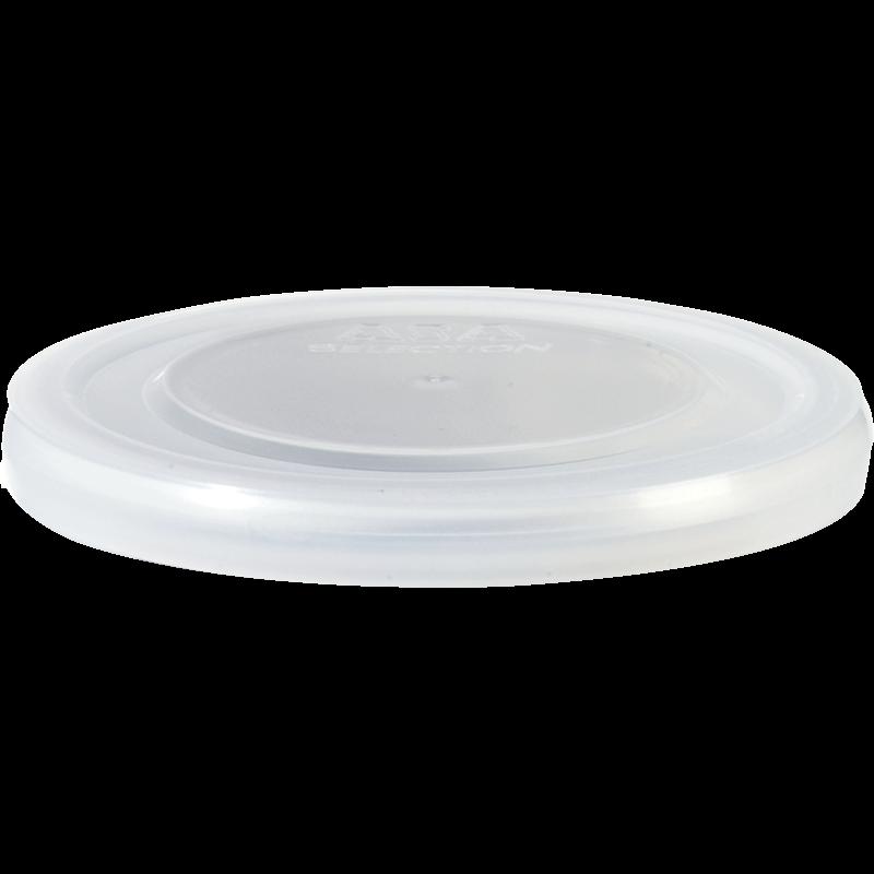 Plastikdeckel, transparent d. 9,5 cm
