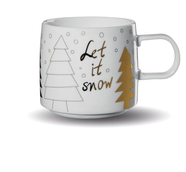 Henkelbecher, let it snow