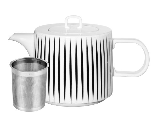 Teekanne, stripes