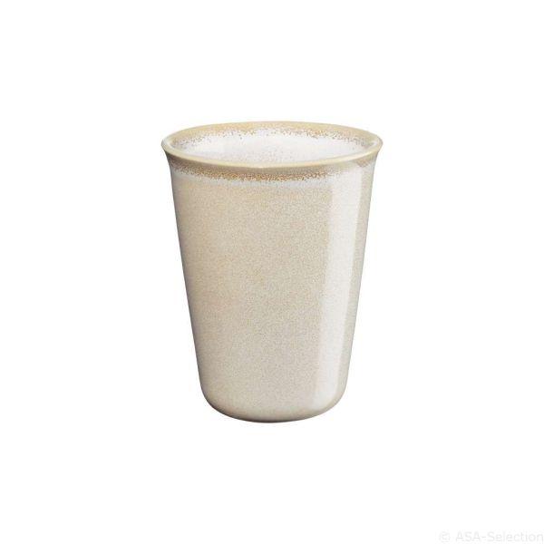 Becher Cappuccino, sand