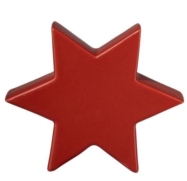Stern, rot