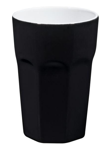 Becher Cappuccino, schwarz