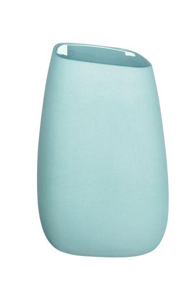 Vase, aqua