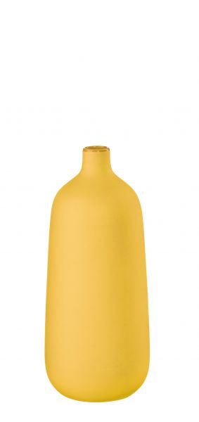 Vase, gelb