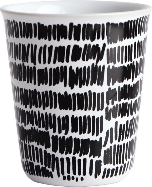 Becher Espresso - mini stripes -