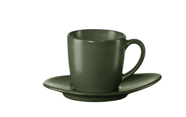 Espressotasse mit Unterer, ver