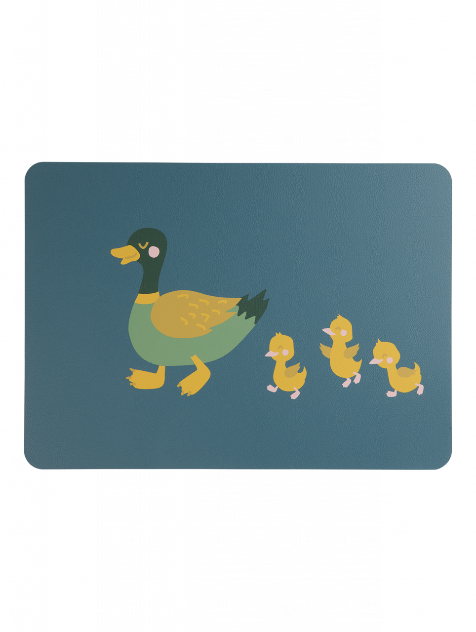 Tischset, Duck Emil with Ducklings