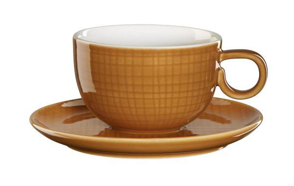 Kaffeetasse m. Unterer, cinnam