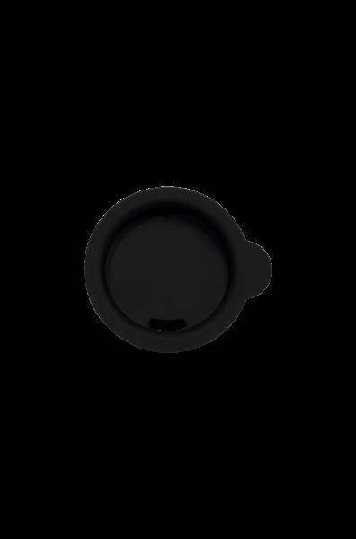 Silikondeckel, schwarz