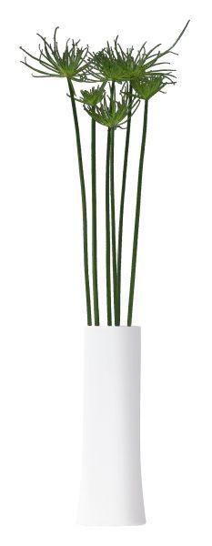 Vase Oval M, Porzellan