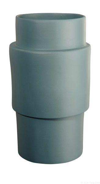 Vase, petrol matt