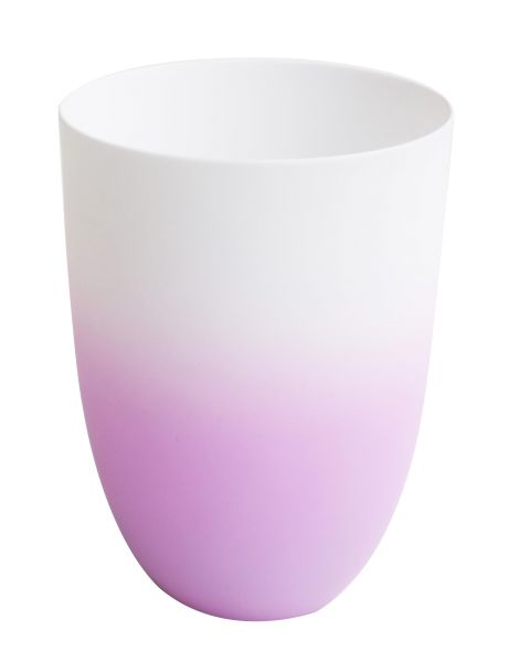 Vase/ Windlicht flieder