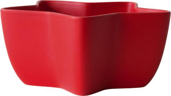 Sternschale, rot