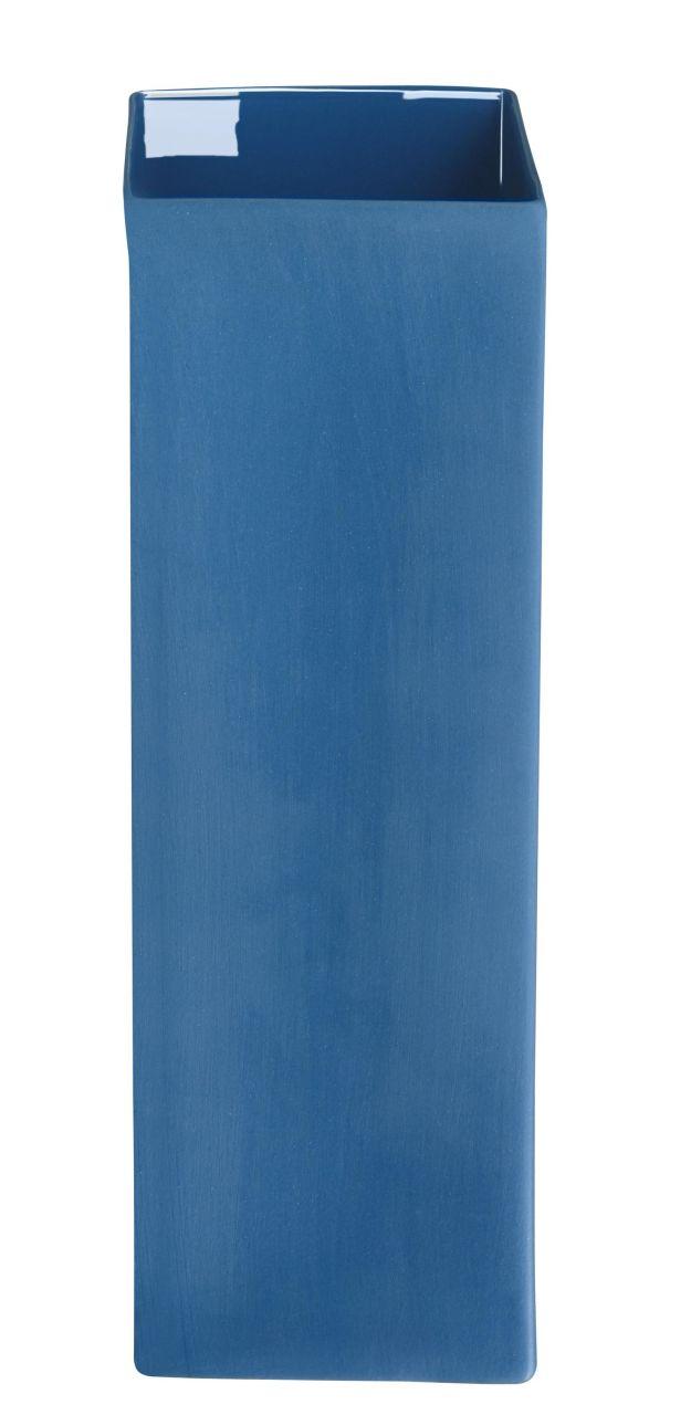 Vase, blau