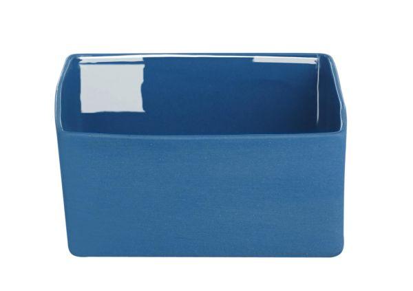 Schale, blau