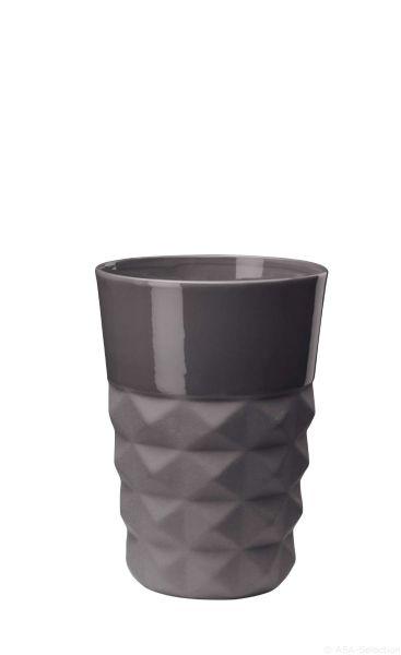 Vase, basalt