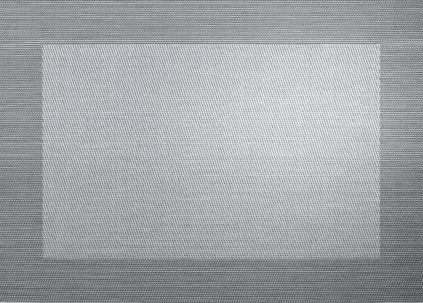 Tischset, silver black metalli