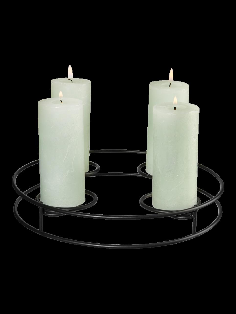 Kerzenständer rund, multifunktional