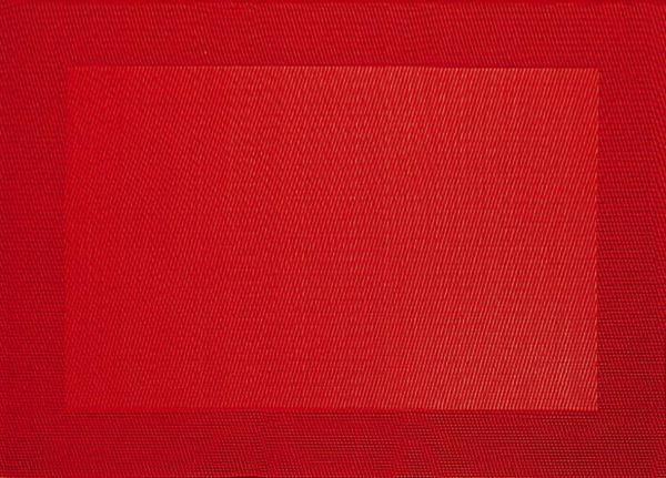 Tischset, rot
