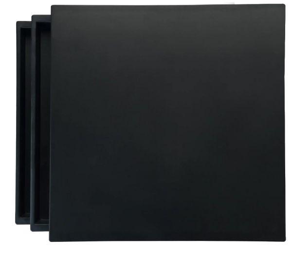 Surplace Metalldisplay, quadratisch, 26,5 x 26,5 cm, h 12,5