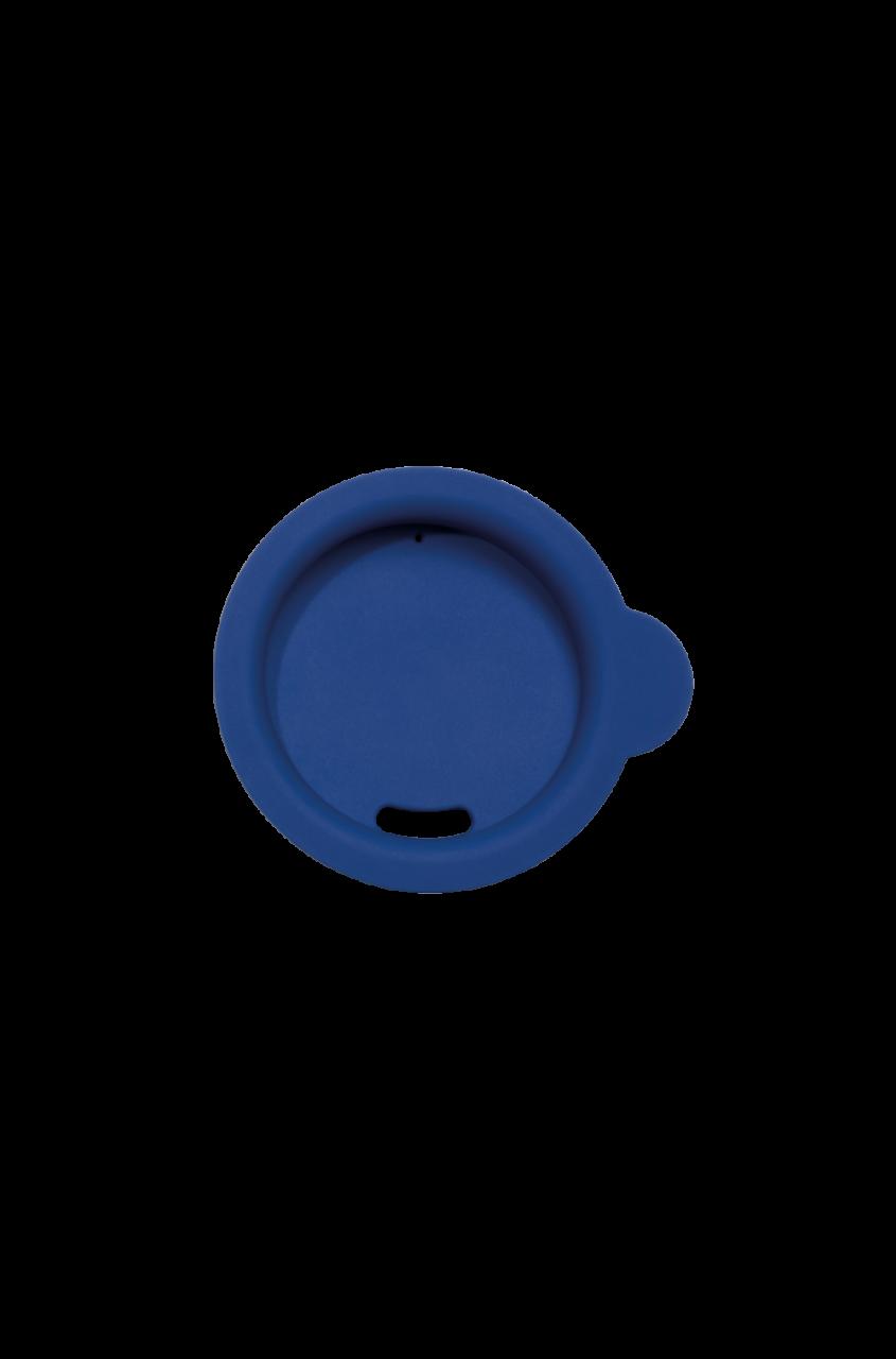 Silikondeckel, blau